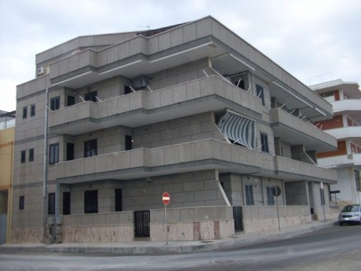 """Rivestimento Condominio """"Gabbiano"""" Gallipoli"""