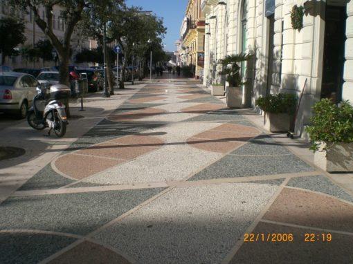 Pavimentazione Corso Roma a Gallipoli