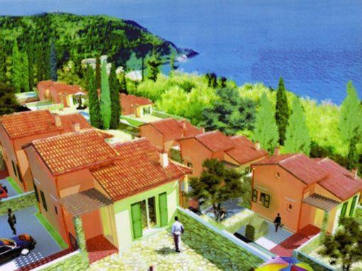 Ville monofamigliari nell'isola di Lefkas (Grecia)