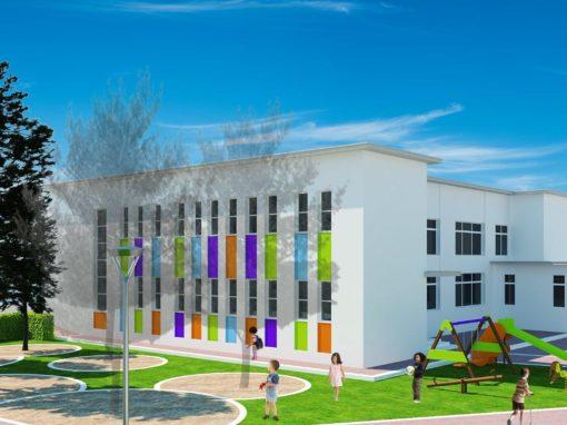 Manutenzione scuola elementare a Neviano